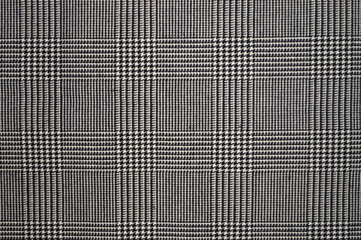 Black White Tweed